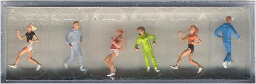 Preiser People Jogging (6) HO Scale Models