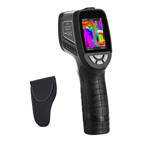 Thermal Imaging Camera-Handheld Infrared Camera w/ Real-Time Thermal Image,Infrared Image Resolution 1089pixels-Temperature Measurement Range -2°C-380°C,IR Thermal Imager,2.5