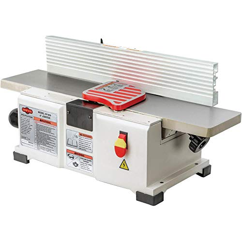 Shop Fox W1829 Benchtop Jointer, 6-Inch (Best Jointer For Small Shop)