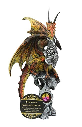 YK Kaiser Gold Dragon Knight Perching On Oracle Tree for sale  Delivered anywhere in USA