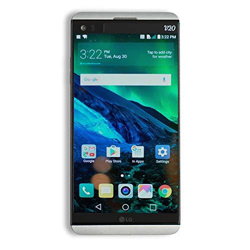 LG V20 VS995 64GB Silver - Verizon Unlocked (Renewed) (Lg Verizon Unlock Cell Phones)