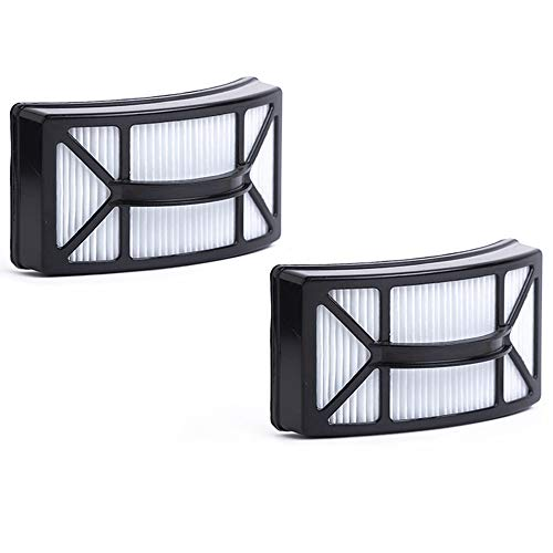Green Label 2 Pack Replacement Washable HEPA Filter 1604130 for Bissell Powerlifter Pet Vacuum Cleaners