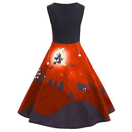 de Bal Tunique de Deguisement Vintage Princess Robe Imprim Rouge Chic Robe Cocktail GongzhuMM Ceremonie Halloween Manches de Robe Soire sans Bq1TAx