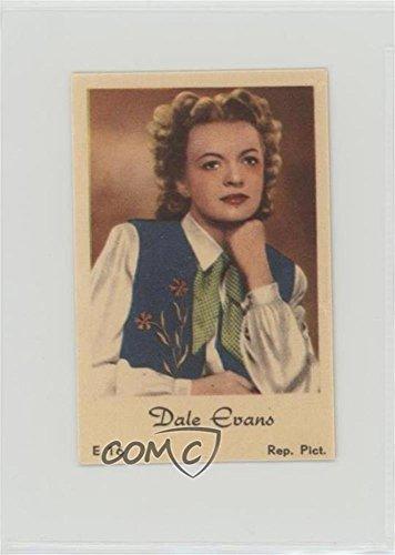 Dale Evans Ungraded COMC Good to VG-EX (Trading Card) 1952 Dutch Gum E Name in Script Set - [Base] #E -