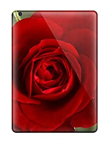 Case Cover Red Flowers / Fashionable Case For Ipad Air by Maris's Diary