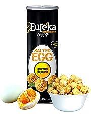 Eureka Salted Egg Popcorn Can 90g