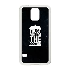 Samsung Galaxy S5 Cell Phone Case White Doctor Who 004 SYj_743646