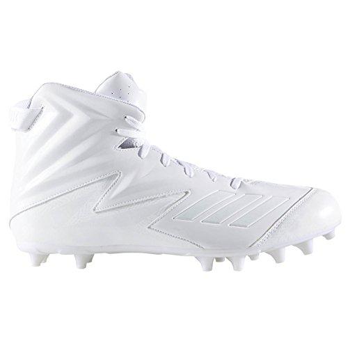 Crampons De Football Moulés Larges Adidas Mens Freak Large (2e) Blanc-blanc-blanc