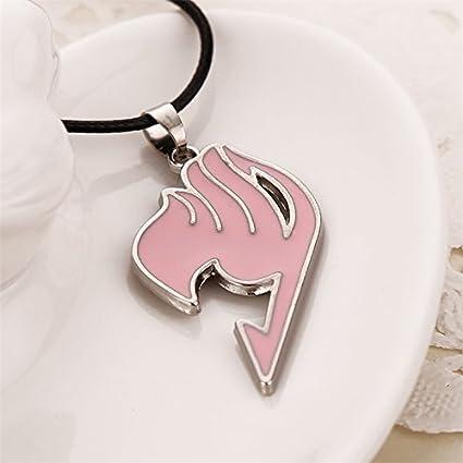 Amazon.com: Fairy Tail necklace guild logo tattoo pendant Anime ...