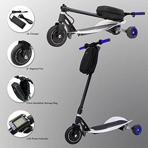 TechClic Electric Scooter 3 wheels cheap