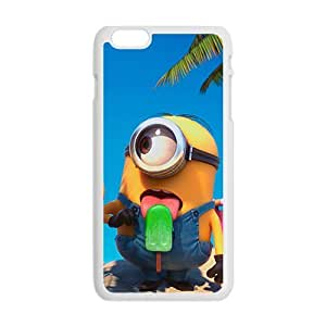 Cute naughty horarios de minions Cell Phone Case for Iphone 6 Plus by icecream design