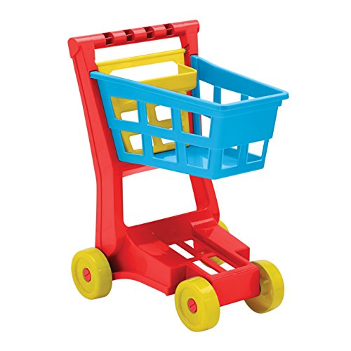 American Plastic Toys Deluxe Shopping Cart Playset American Made Plastic Toys