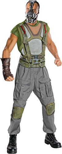 Batman The Dark Knight Rises Adult Deluxe Bane Costume, Multi-Colored, Large (Group Costume Ideas)