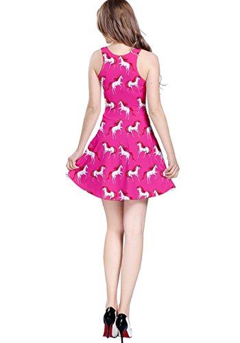 CowCow - Vestido - para mujer Hot Pink