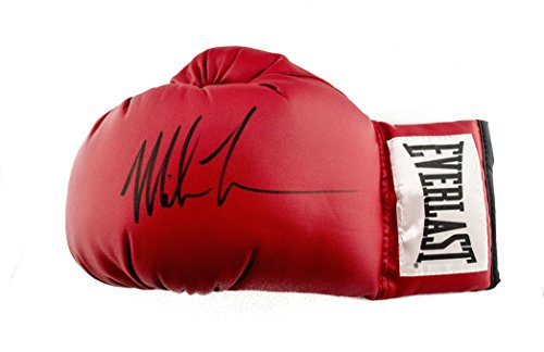 Mike Tyson Signed Boxing Glove Everlast PSA/DNA ITP