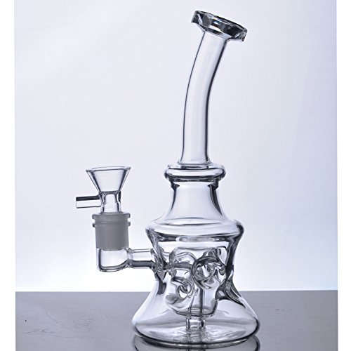 Glass-100 New Arrival 8 Tall 14 mm Joint Handmade