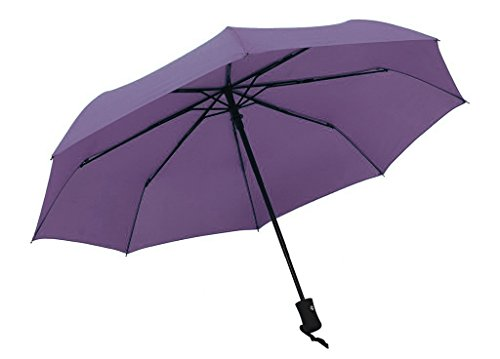 Peacock Costume Target (Century Star Full Size Duralbe Windbuster Windproof One Hand Sport Umbrella Purple)