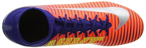Jr Football Royal Enfant Citrus Crimson Blue Chaussures total chrome bright V Mixte deep Nike De Fg Superfly Mercurial Multicolore qdSCH
