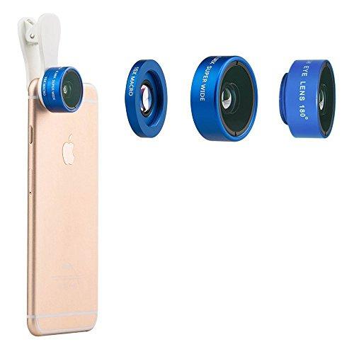Universal 3-in-1 180°Fisheye Lens (Blue) - 7