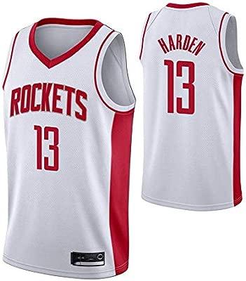 NBALL-HU Camiseta De Baloncesto para Hombre Houston Rockets ...