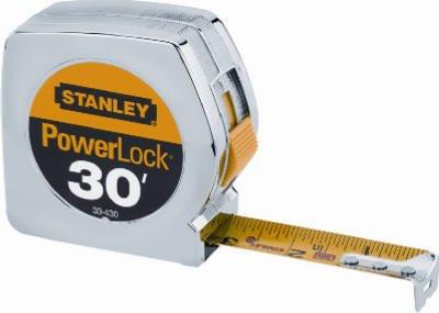 Stanley Hand Tools 33-430 1'' X 30' PowerLock® Professional Tape Measure