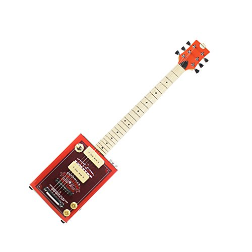 (Bohemian Guitars - Boho Series - Bohemian Hot Sauce - Electric Oil Can Hollow Body Guitar - 2 x P90)