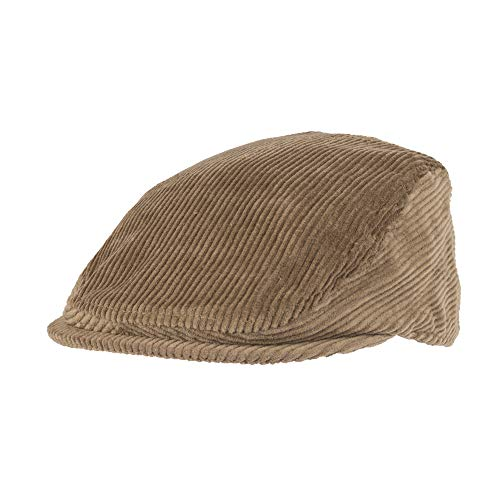 Levi's Men's Ivy Newsboy Hat, Brown Casual, Large/Extra -