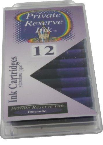 Private Reserve Ink Cartridges Tanzanite