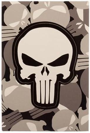 The Punisher logo lanyard ID holder