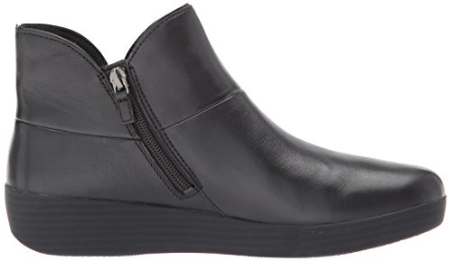 FitFlop Women's Supermod II Leather Ankle Boot, All Black, 11 M US by FitFlop (Image #7)
