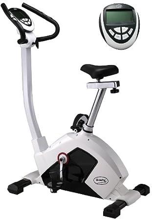 Body Coach Bicicleta estática ergómetro PMS, Plata/Gris/Negro ...