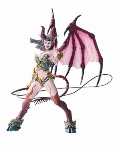 World of Warcraft Series 4: Succubus Demon: Amberlash Action Figure (World Of Warcraft Series compare prices)