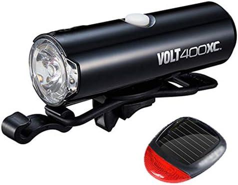 自転車ライトセット、USB充電式自転車のヘッドライトとテールライトLED懐中電灯360°回転するナイトライディング機器