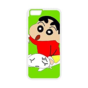 Crayon Shin chan iPhone 6 4.7 Inch Cell Phone Case White D4613302