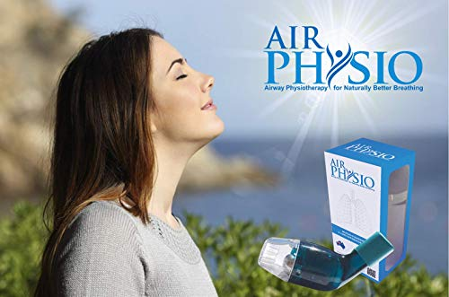 Natural Lung Expansion & Mucus Clearance Device | Breathing Exerciser | Expiratory Therapy to Improve Sleep & Fitness | Treatment for COPD, Asthma,Bronchitis,Cystic Fibrosis,Pulmonary & Smoker Relief by AirPhysio (Image #4)