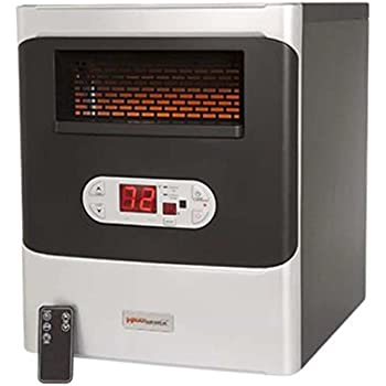 Amazon Com Heatworx Portable Infrared Space Heater With