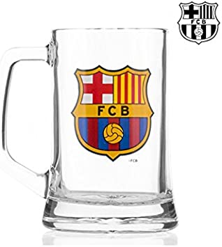 F.C. Barcelona - Jarra pequeña Escudo: Amazon.es: Juguetes y juegos