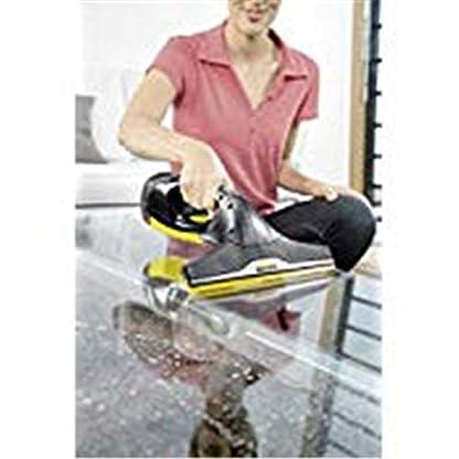 Kärcher Akku Fenstersauger WV 2 Premium Black Edition (Akkulaufzeit: 35 min, 2x wechselbare Absaugdüsen - breit und schmal, Sprühflasche mit Mikrofaserbezug, Fensterreiniger-Konzentrat 20 ml) 7