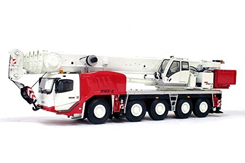 TWH Collectible Grove GMK 5165-2 all terrain crane Red White NEW Construction .HN#GG_634T6344 G134548TY30950