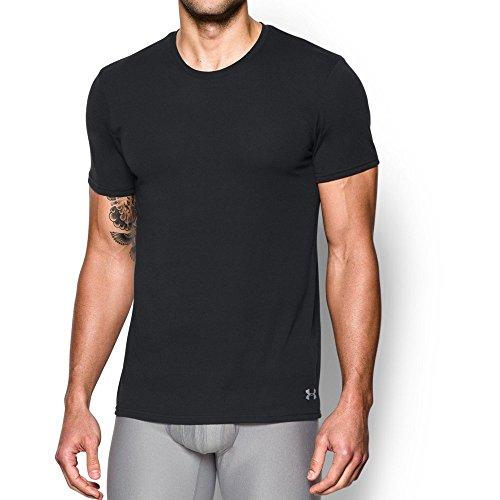 Under Armour UA Core Crew Undershirt – 2-Pack LG Black
