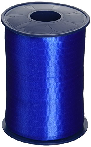 Morex Poly Crimped Curling Ribbon, 3/16-Inch by 500-Yard, Royal Blue (253/5-614) (Blue Metallic Ribbon)