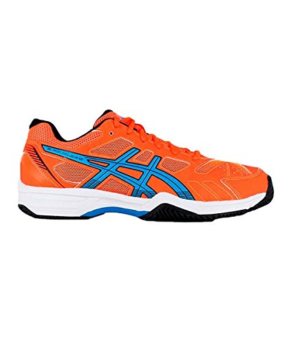 ASICS GEL PADEL EXCLUSIVE 4SG ORANGE FLUO BLEU