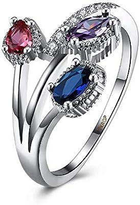 Crystal Engagement Rings Best Promise Rings Anniversary Wedding
