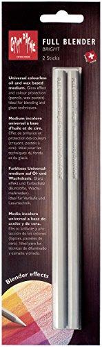 Pencils Colorless Blender - CREATIVE ART MATERIALS Caran D'ache Full Blender - Bright 2/Pack (902.302)