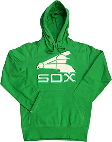 Chicago White Sox Green Signature Pullover Hoodie W/Stitched Logo A100063 (Medium)
