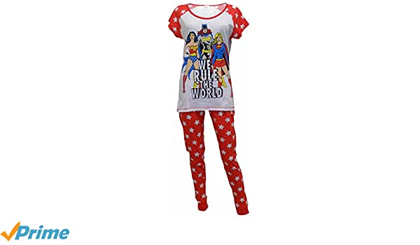 DC Originals Superheroes de damas Pijamas L: Amazon.es: Ropa y accesorios
