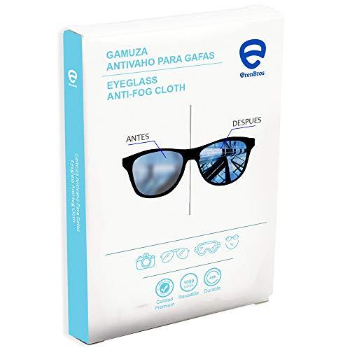 🥇 ErenBros Gamuza de Microfibra Antivaho para Gafas | Efecto duradero | Sin olor | Limpieza en seco