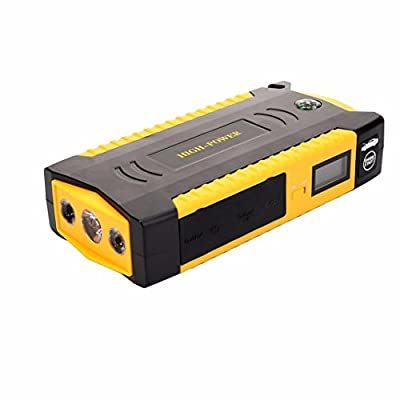 Compia 600 A Spitzenstrom 18000mAh Portable Car Jump Starter Battery Booster Power Bank Charger with Compass + LCD Screen + LED Torch