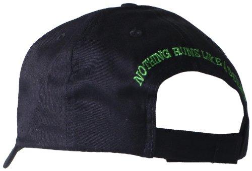 John Deere Embroidered Logo Baseball Hat - One-Size - Men's - Black
