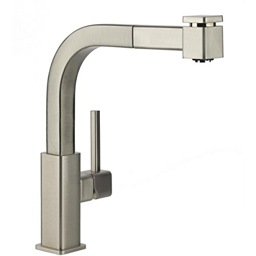 Elkay LKAV3041NK Avado Brushed Nickel Single Lever Pull-out Spray Kitchen Faucet